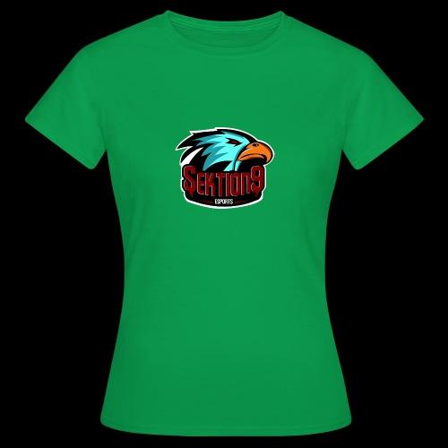 Sektion9 Logo Schwarz - Frauen T-Shirt