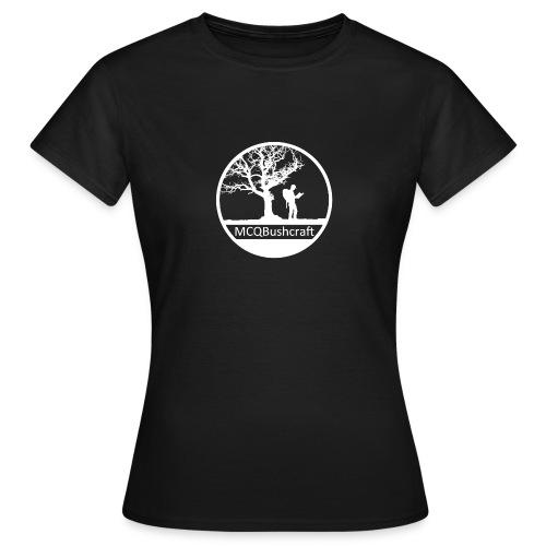 MCQBushcraft Logo light - Women's T-Shirt
