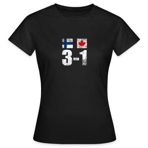 Suomi - Kanada - 3 - 1 - Naisten t-paita