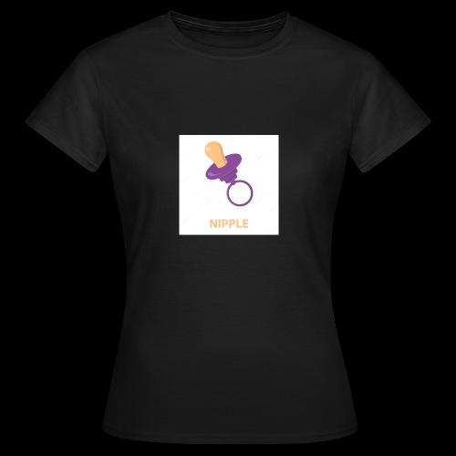 Nipple speen - Vrouwen T-shirt