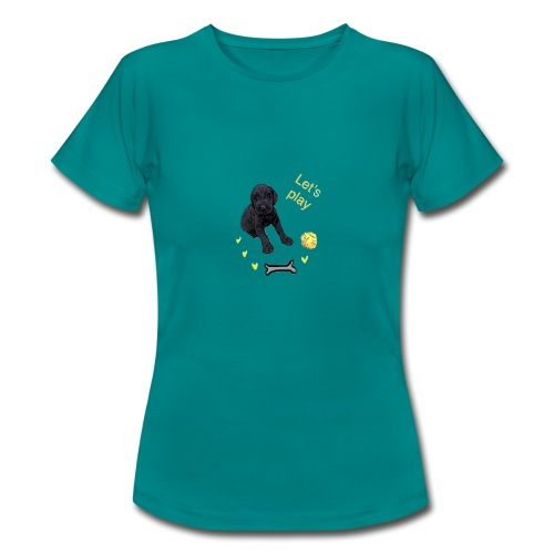 Giant Schnauzer puppy - Women's T-Shirt