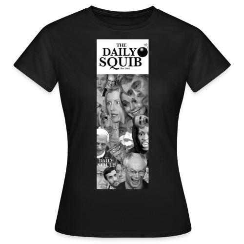 dailysquib2bannerlogobig - Women's T-Shirt