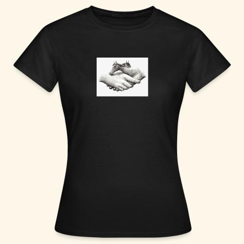 Horse art - T-shirt dam