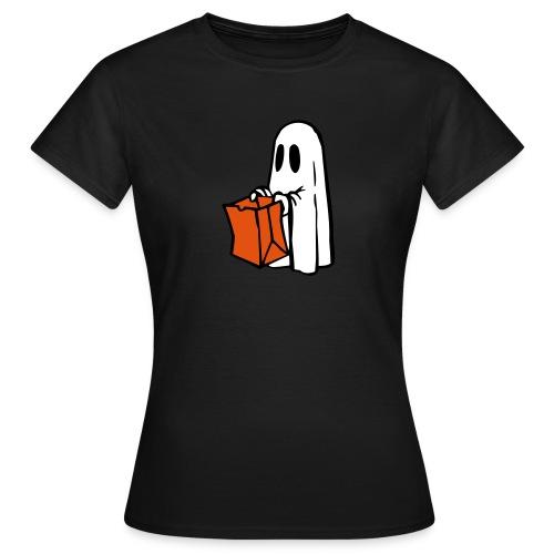 Geist mit Tüte 3farbig - Frauen T-Shirt