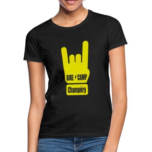 Bike Camp - Champéry - T-shirt Femme