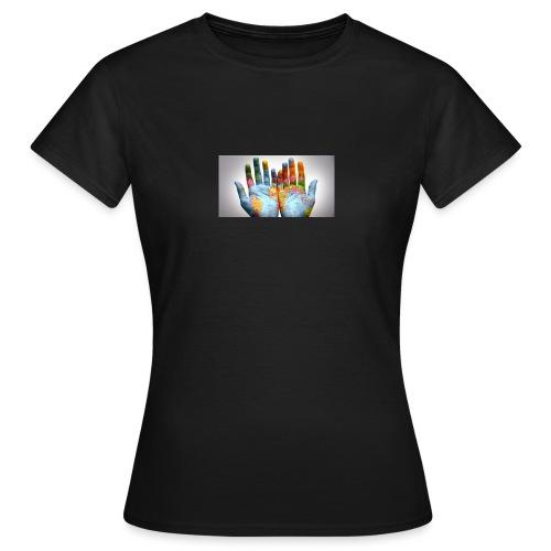 Hands of the world - T-shirt dam