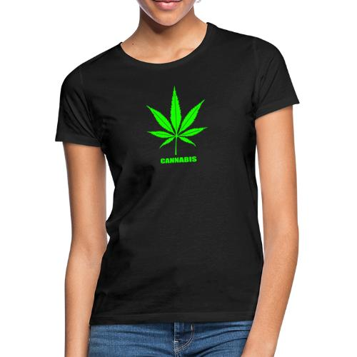cannabis, cannabis community, amsterdam, art, love - Women's T-Shirt
