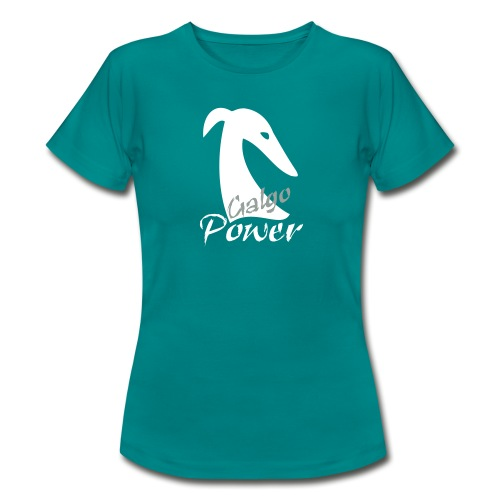 Galgopower - Frauen T-Shirt