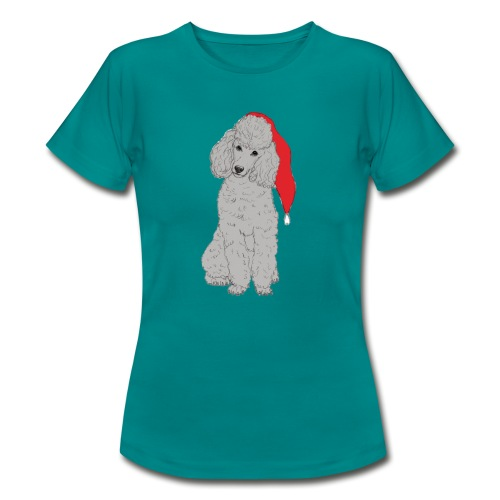 Poodle toy G - christmas - Dame-T-shirt