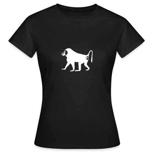 Der Pavian - Frauen T-Shirt