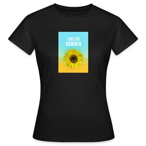 sunflower endless summer Sonnenblume Sommer - Women's T-Shirt