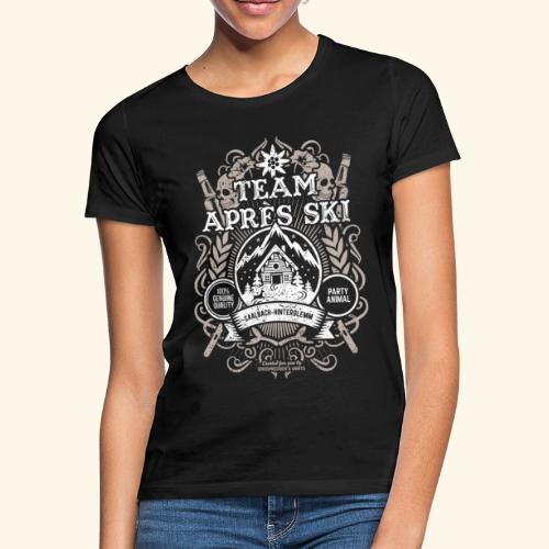 Saalbach-Hinterglemm Apres Ski T Shirt   Party - Frauen T-Shirt