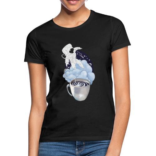 Astronaut Kaffee Design - Frauen T-Shirt