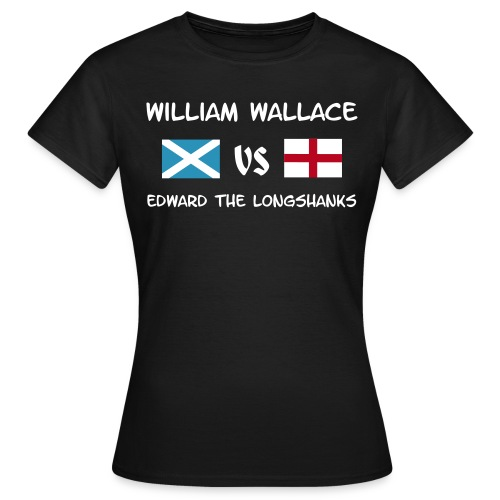 William vs Edward W - Frauen T-Shirt