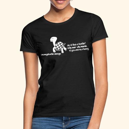 Schildkröte - Frauen T-Shirt