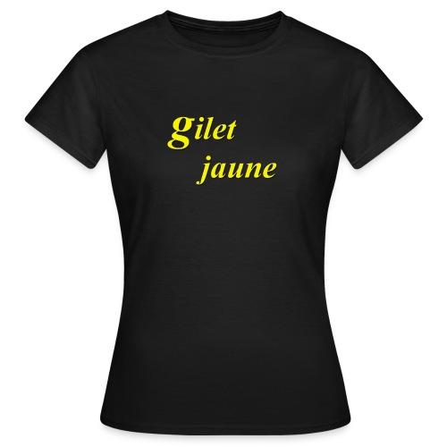 giletjaune - T-shirt Femme