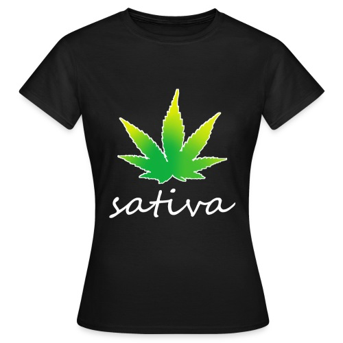sativa weed - T-shirt Femme