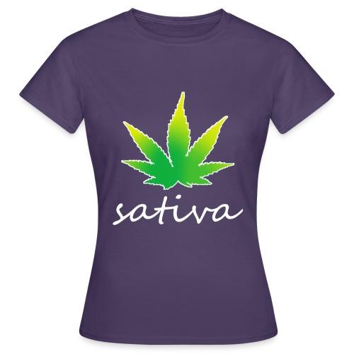 sativa weed - T-shirt Femme