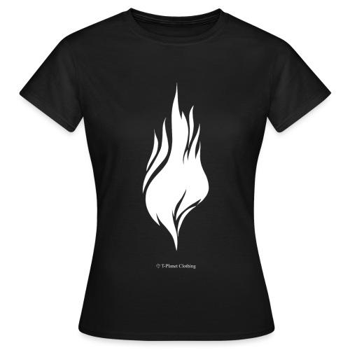 White Flame - Maglietta da donna