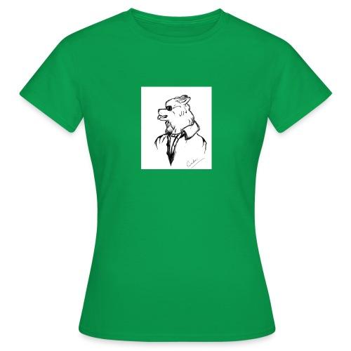 InkedThe Dog style bak LI - Camiseta mujer