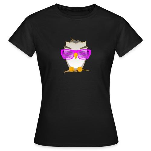 Eule Wald Vogel coole Nerdbrille Geek Big Bang Uhu - Women's T-Shirt