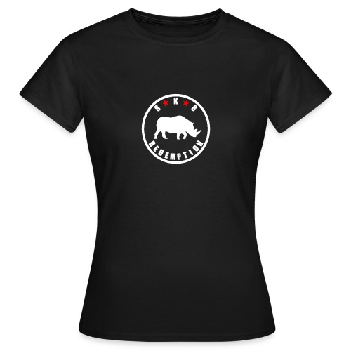 Rhino White 4 - T-shirt Femme