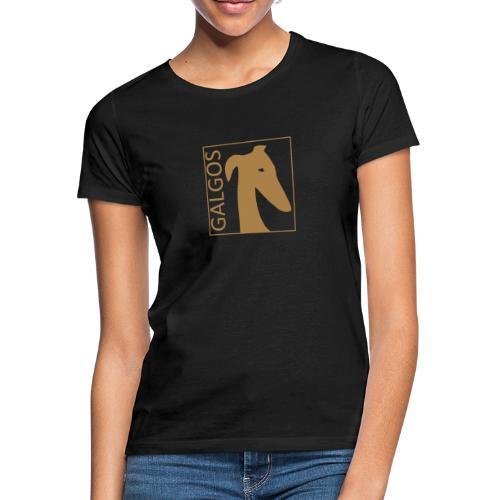 kopfmit galgos 1 - Frauen T-Shirt