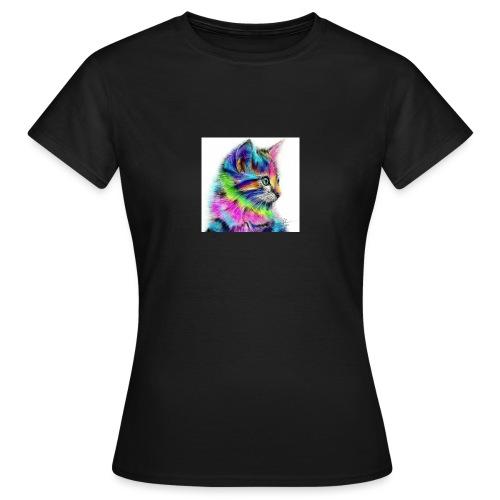 Katzen-Flower - Frauen T-Shirt