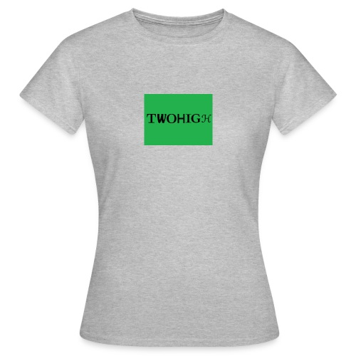solid green background - T-shirt dam