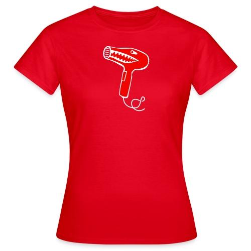 Bad hair dryer - T-skjorte for kvinner