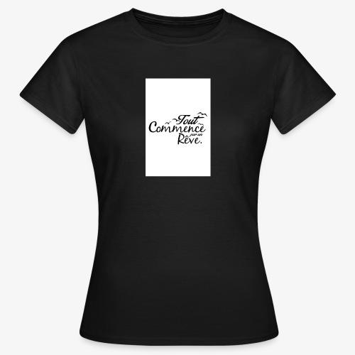 un reve - T-shirt Femme