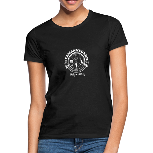 geweihbär Seemannsgarn 3 weiss - Frauen T-Shirt