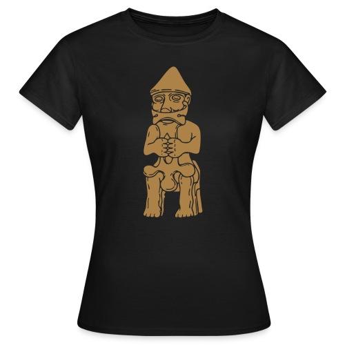 Thor Statuette Island 10tes jahrhdt. - Frauen T-Shirt