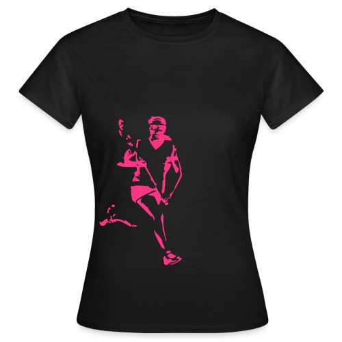 LAX Player Girl 2 - Frauen T-Shirt