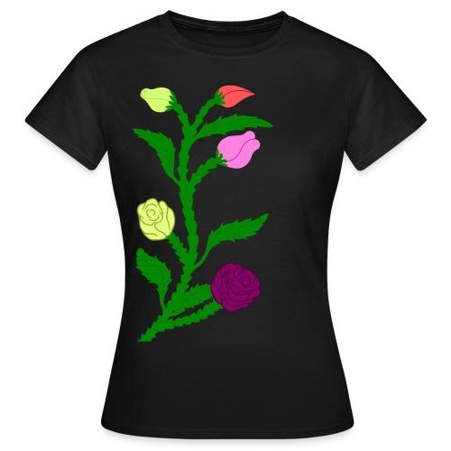 fleurs - T-shirt Femme