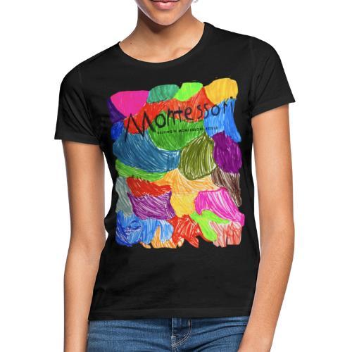 Coloured Montessori - Naisten t-paita