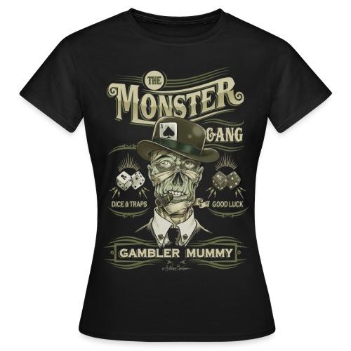 mummy face unido ok - Camiseta mujer