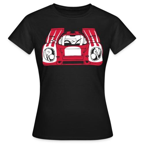 917 Rouge_Blanc - T-shirt Femme