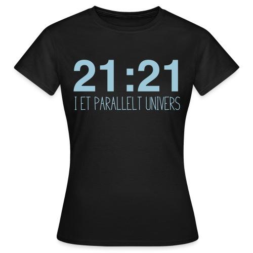 21-21-02 - T-skjorte for kvinner
