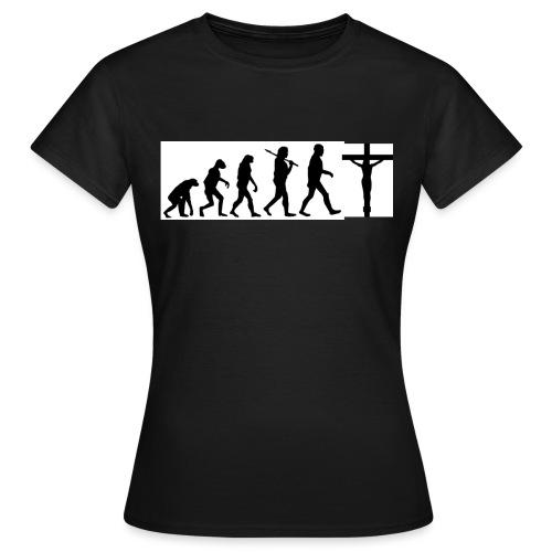 Evolution png - Frauen T-Shirt