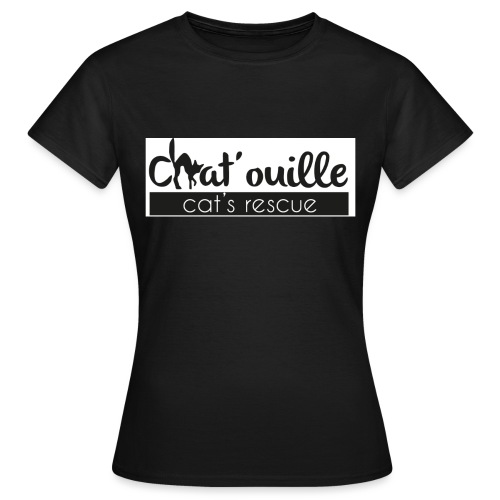 Chat ouille - T-shirt Femme