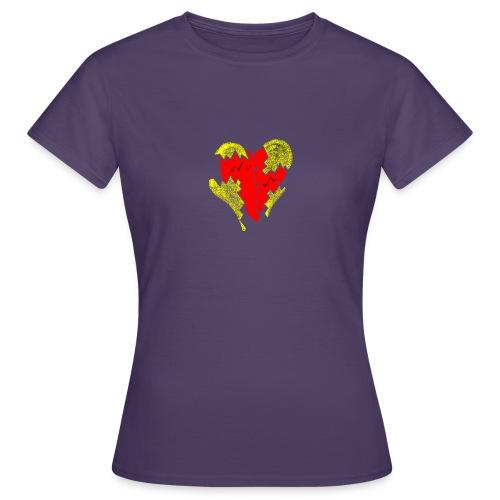 peeled heart (I saw) - Women's T-Shirt