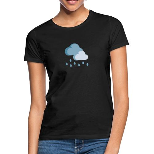lluvia - Camiseta mujer