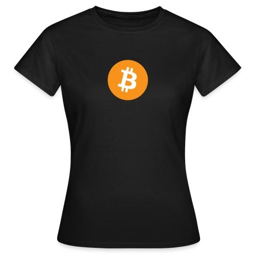 Bitcoin - Vrouwen T-shirt