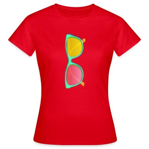 Vintage Retro Glasses Pop Art Style - Women's T-Shirt
