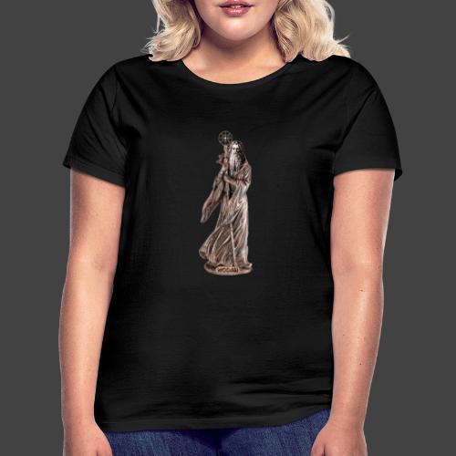 WODAN DER MÄCHTIGE, braun - Frauen T-Shirt