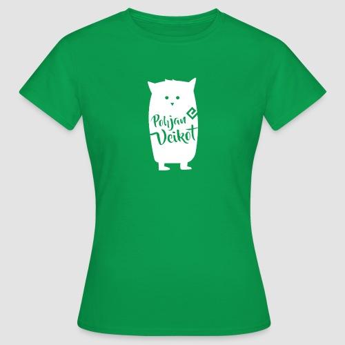 Veikko-pöllö valkoinen - Naisten t-paita