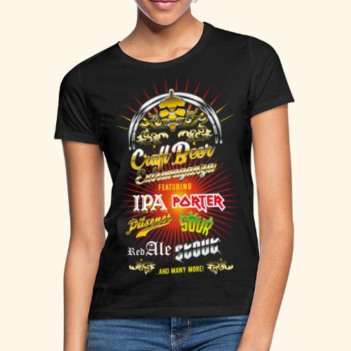 Bier-Shirt Craft Beer Extravaganza - Frauen T-Shirt