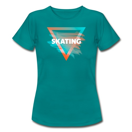 Skating Diffus - Frauen T-Shirt
