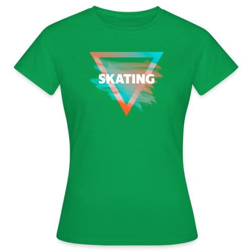 Skating Diffus - Frauen T-Shirt